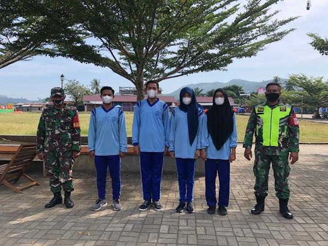 Latihan Seleksi Paskibraka SMA Negeri 1 Sungai Beremas Tahun 2021