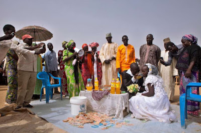 Cameroon Refugees Weddings