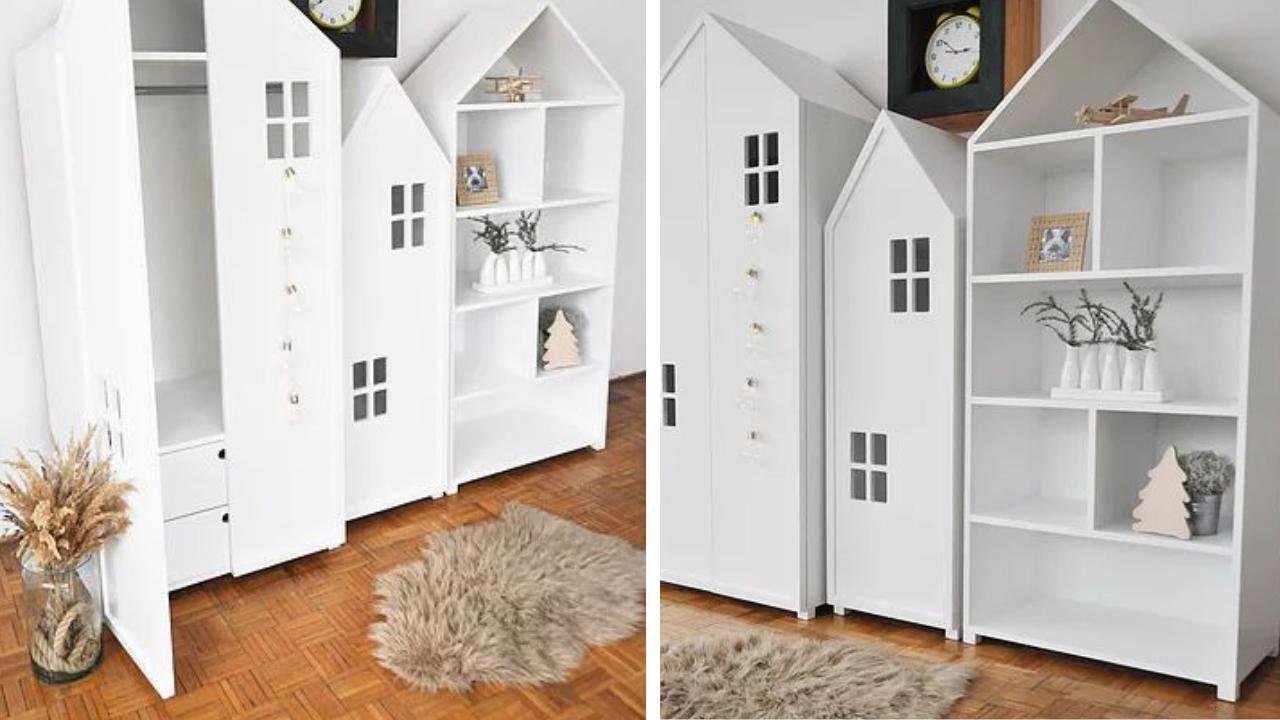 szafka domek dla dzieci
