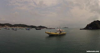 Nosso barco de passeio.