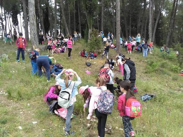Γιάννενα: ΔΕΚΆΔΕΣ παιδιά στην Δράση δενδροφύτευσης