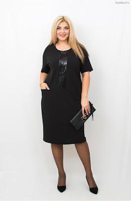 Vestidos negros para gorditas