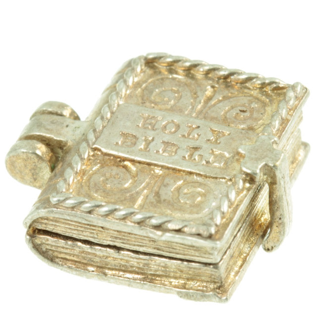 Holy Bible antique charm