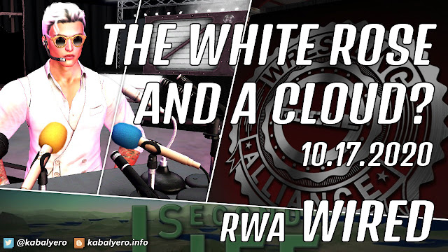 The White Rose, A Cloud and Dylan Mattel • RWA WIRED (10.17.2020) Second Life Wrestling