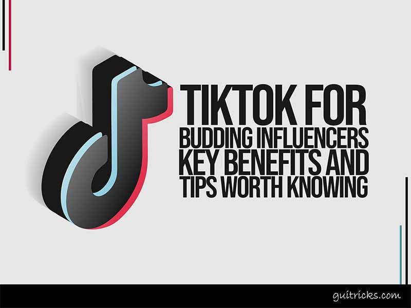 TikTok For Budding Influencers