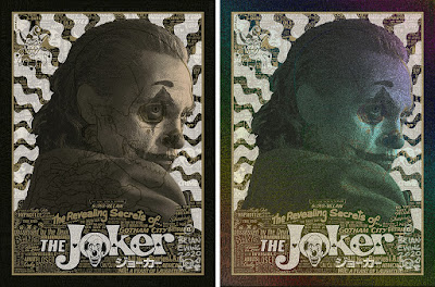 Joker Screen Print by Brian Ewing