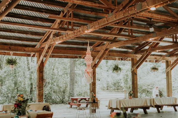DIY Boho wedding reception ideas.