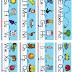 Láminas de trabajo, alfabeto, vocales y números