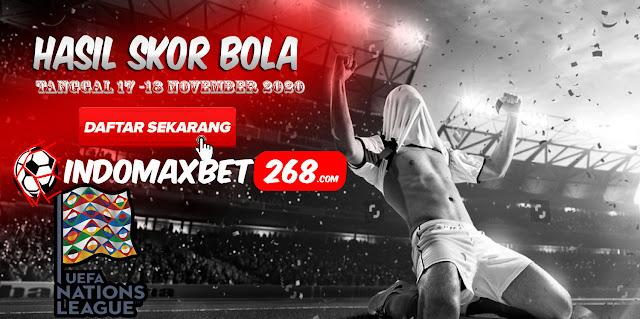Hasil Pertandingan Sepakbola Tanggal 17 - 18 November 2020