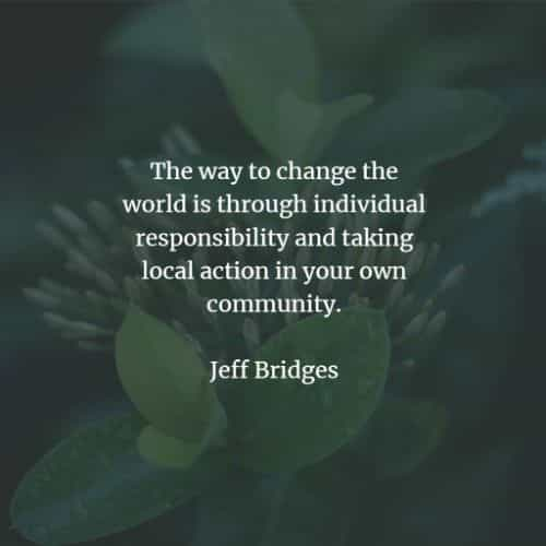 Change the world quotes and making a difference