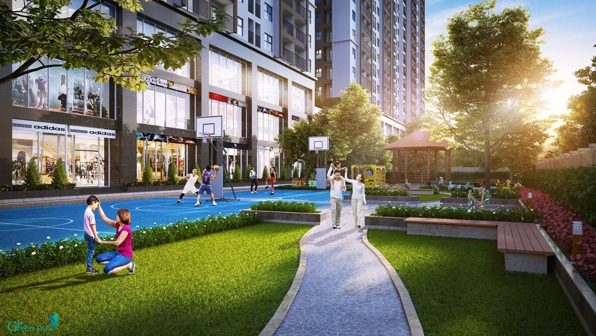 Không gian sống đẳng cấp tại chung cư Phương Đông
