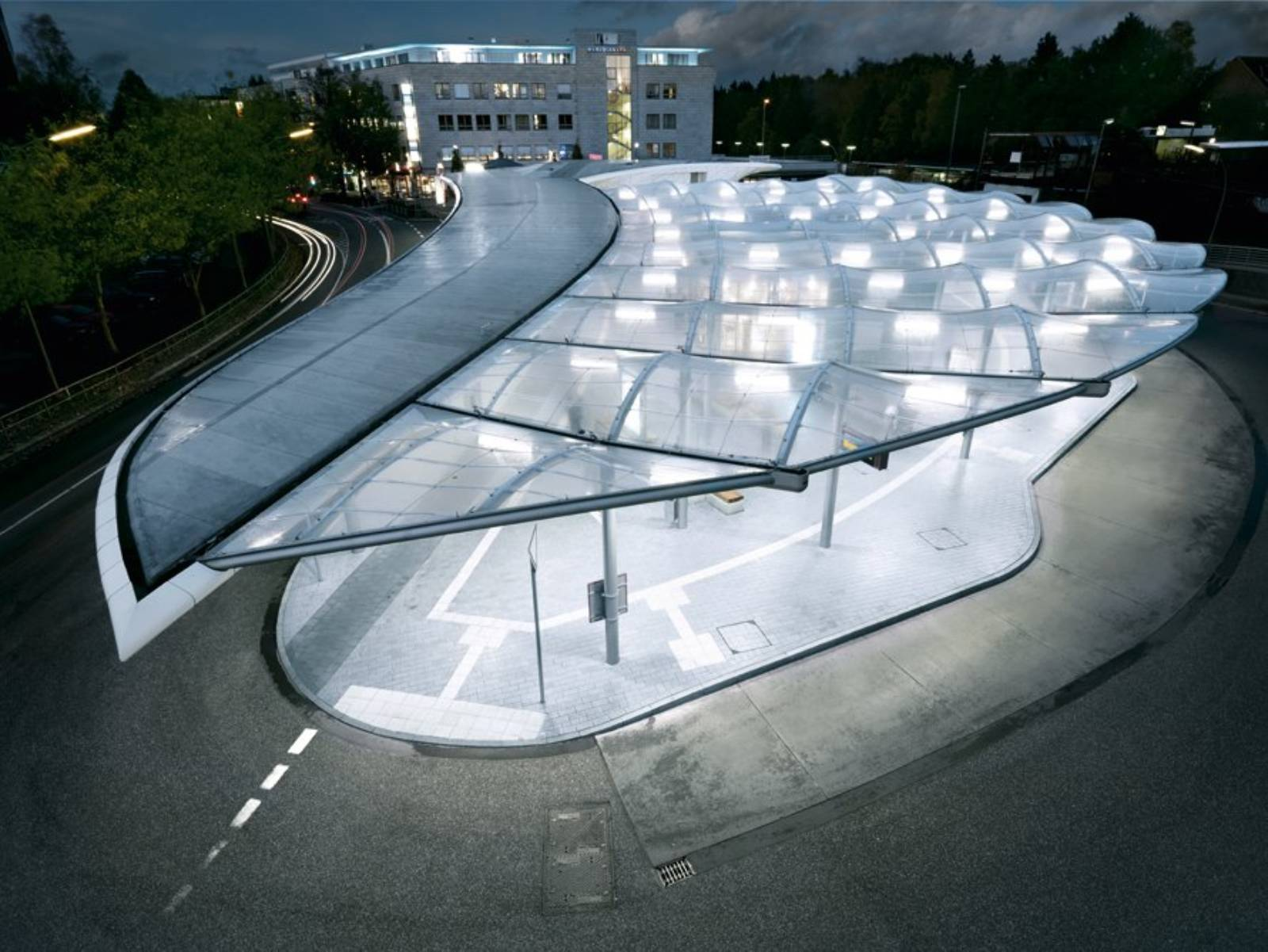 Hamburg Architektur Bus Station By Blunck+morgen Architekten – Aasarchitecture