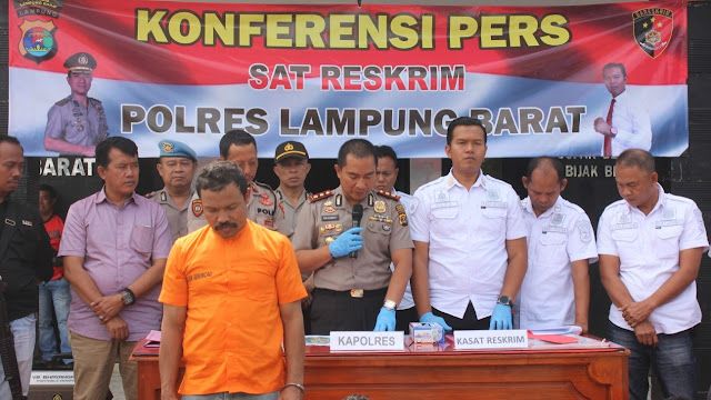 Kasus Illegal Logging, Suharjono: Dua Orang Terduga Pelaku Sedang Didalami