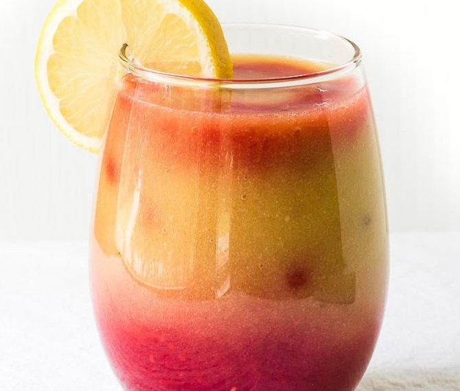 Sunrise Detox Smoothie #Drink #HealthyDrink