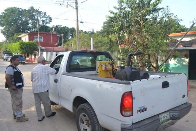 Gobierno municipal y Jurisdicción Sanitaria 04 emprenden acciones de salud en las comunidades de Luis Echeverría y San Pedro Tlapacoyan