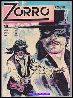 Zorro le cavalier masquer
