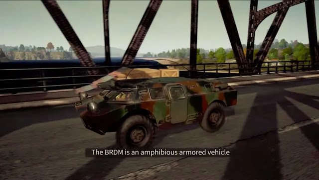 PUBG BRDM 2