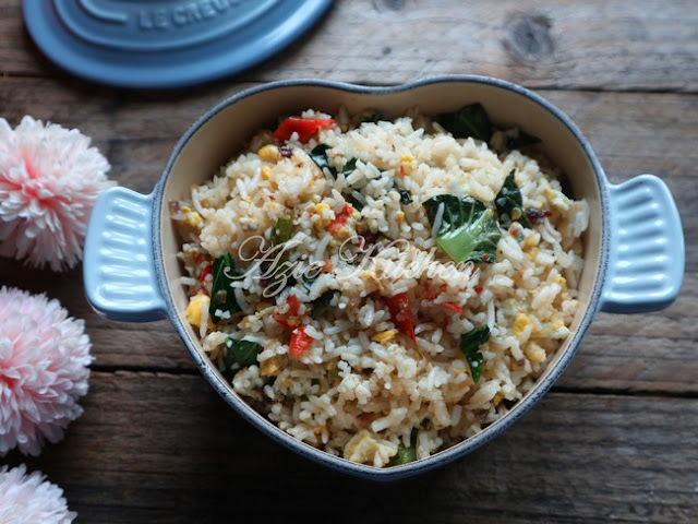 Nasi Goreng Telur Yang Simple