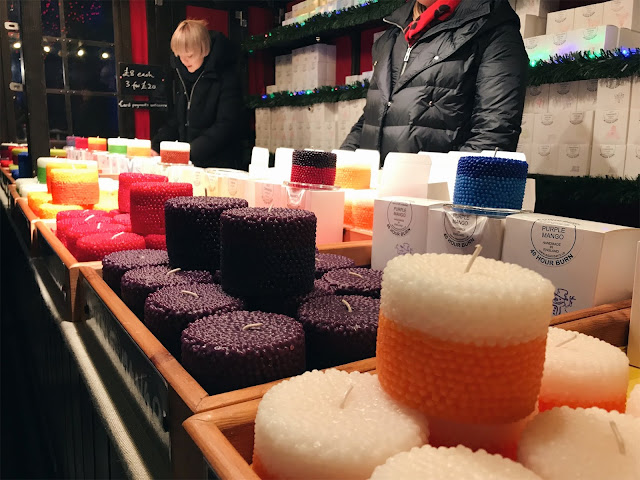 christmas market edinburgh and glasgow blogmas glitterisblack
