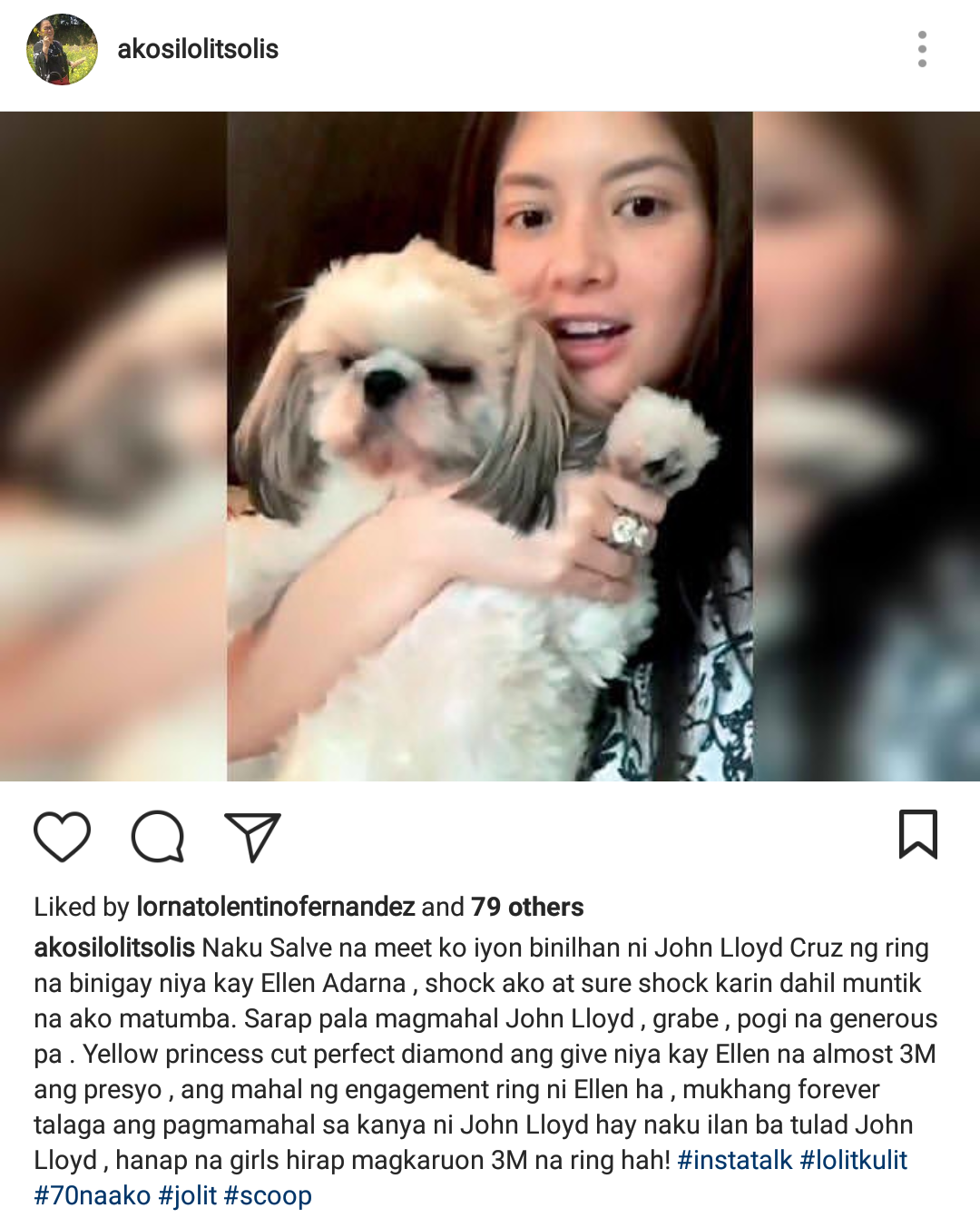 Lolit Solis Reveals How Much The Engagement Ring Of Ellen Adarna