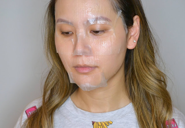 Lapcos Skin First Oil Wrap Mask in Chamomile Selfie