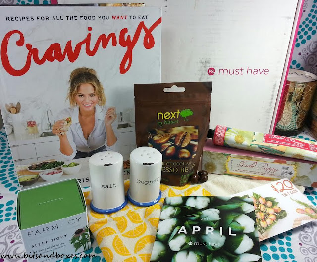 Popsugar must have april 2016 lifestyle subscription box review plus