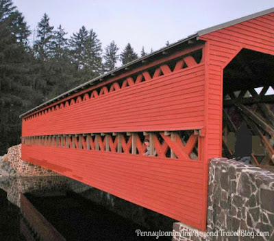 Sachs Covered Bridge in Gettysburg, Pennsylvania