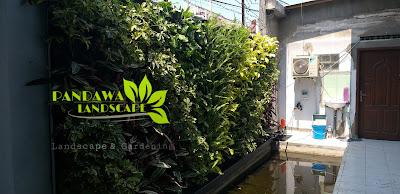 Harga pemasangan vertical garden di bekasi