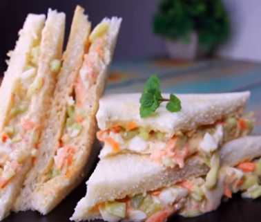 How to make Egg Salad Sandwich