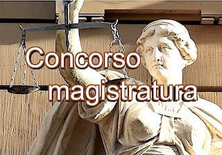 concorso Magistrato ordinario - adessolavoro.com
