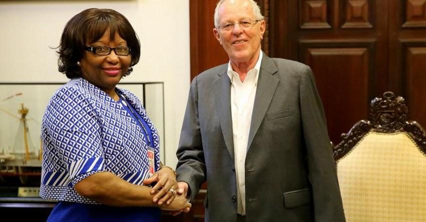 Presidente Kuczynski y directora de la OPS dialogaron sobre retos de la salud en Perú
