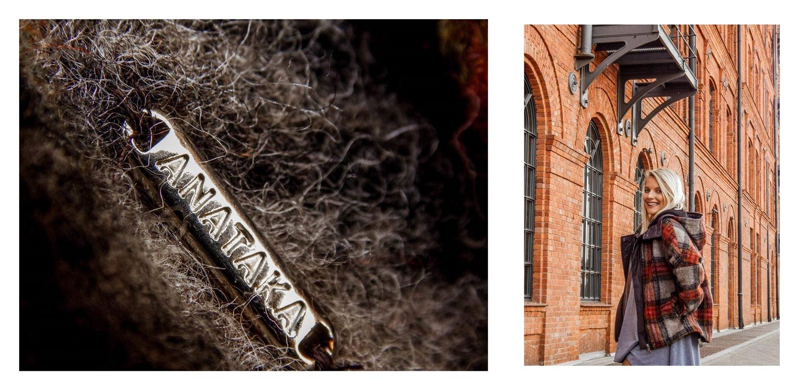7a płaszcz - ubranie, moda polska, hot moda, moda damska jesień 2018, moda for you, net moda, blog, blogerki fashion łódź anataka kurtka w kratkę ciepła kurtka stylizacje w co się ubrać eleganckie kurtki blondynka