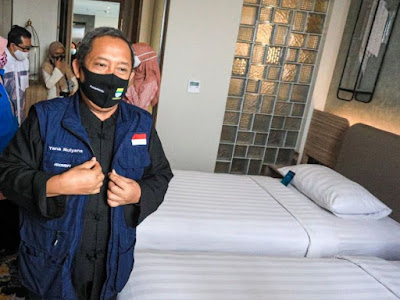 hotel bandung beroperasi kembali