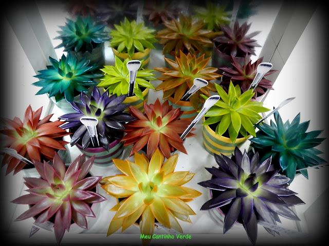 PLANTAS COM MAQUIAGEM - MAKE-UPZ