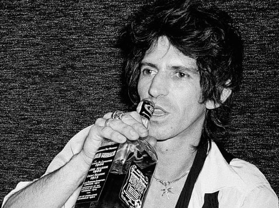 Keith Richards professional hellraiser & hangover expert   #PMRC PunkMetalRap.com