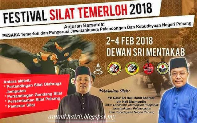 Festival Silat Temerloh 2018