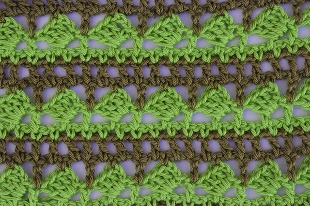 2 - Crochet Imagen Puntada para poncho de verano a crochet y ganchillo por Majovel Crochet