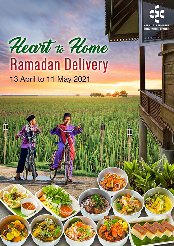 Home delivery Food for Ramadan by Kuala Lumpur Convention Centre (KLCC) The Centre's Chef