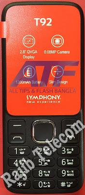 Symphony T92 Flash File