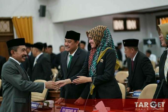 Ali Badrudin Kembali Dilantik Sebagai Ketua DPRD Pati