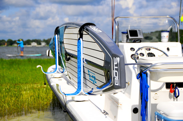 center console sup boat rack