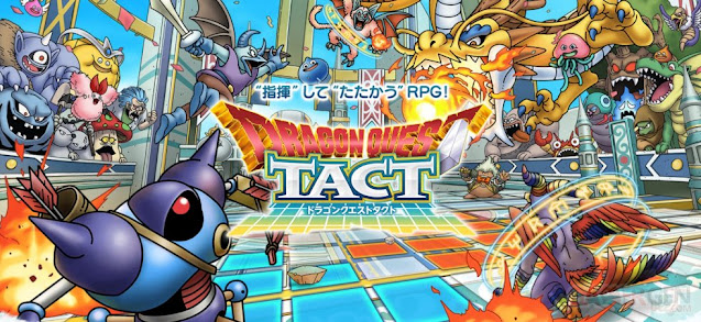 Dragon Quest Tact Scheduled to Release This Summer in Japan, Pre-registration Opened