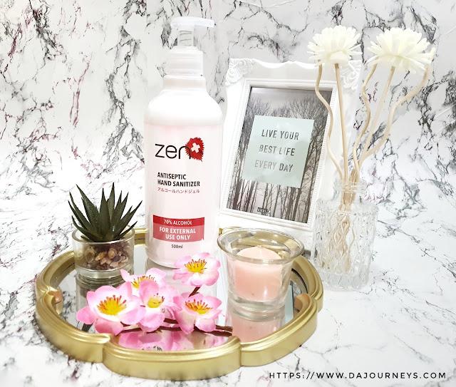 [Review] #ZENAntiBacterial Hand Sanitizer