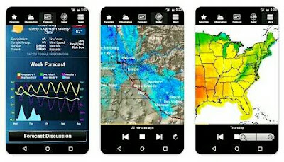 Aplikasi Ramalan Cuaca - Weather NOA