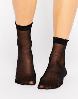socks - collant noir- asos