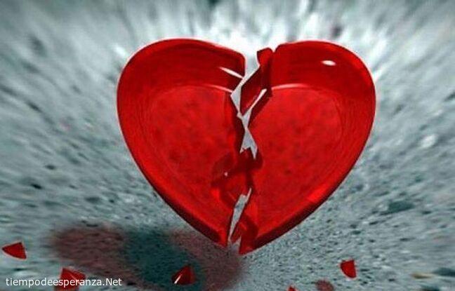 Corazón roto - fin de una relación amorosa