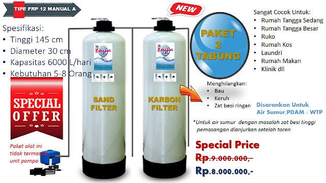 sand filter dan karbon filter