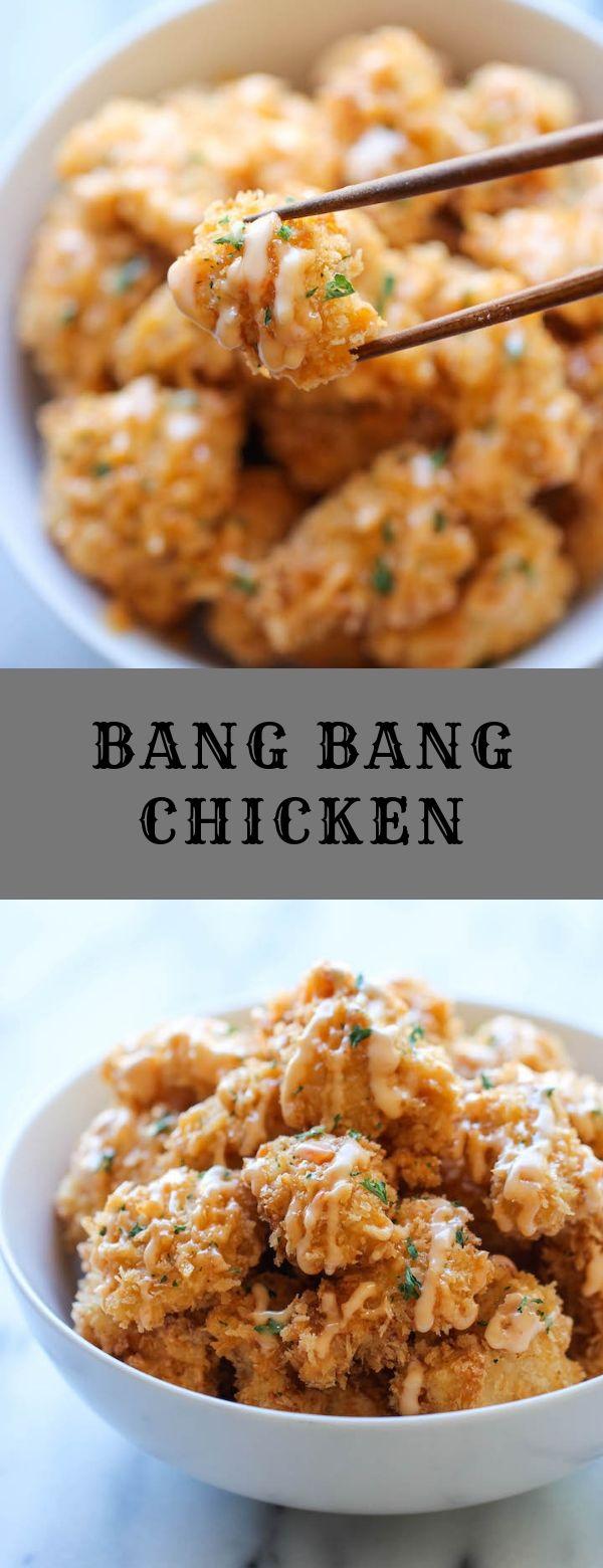 BANG BANG CHICKEN #chicken
