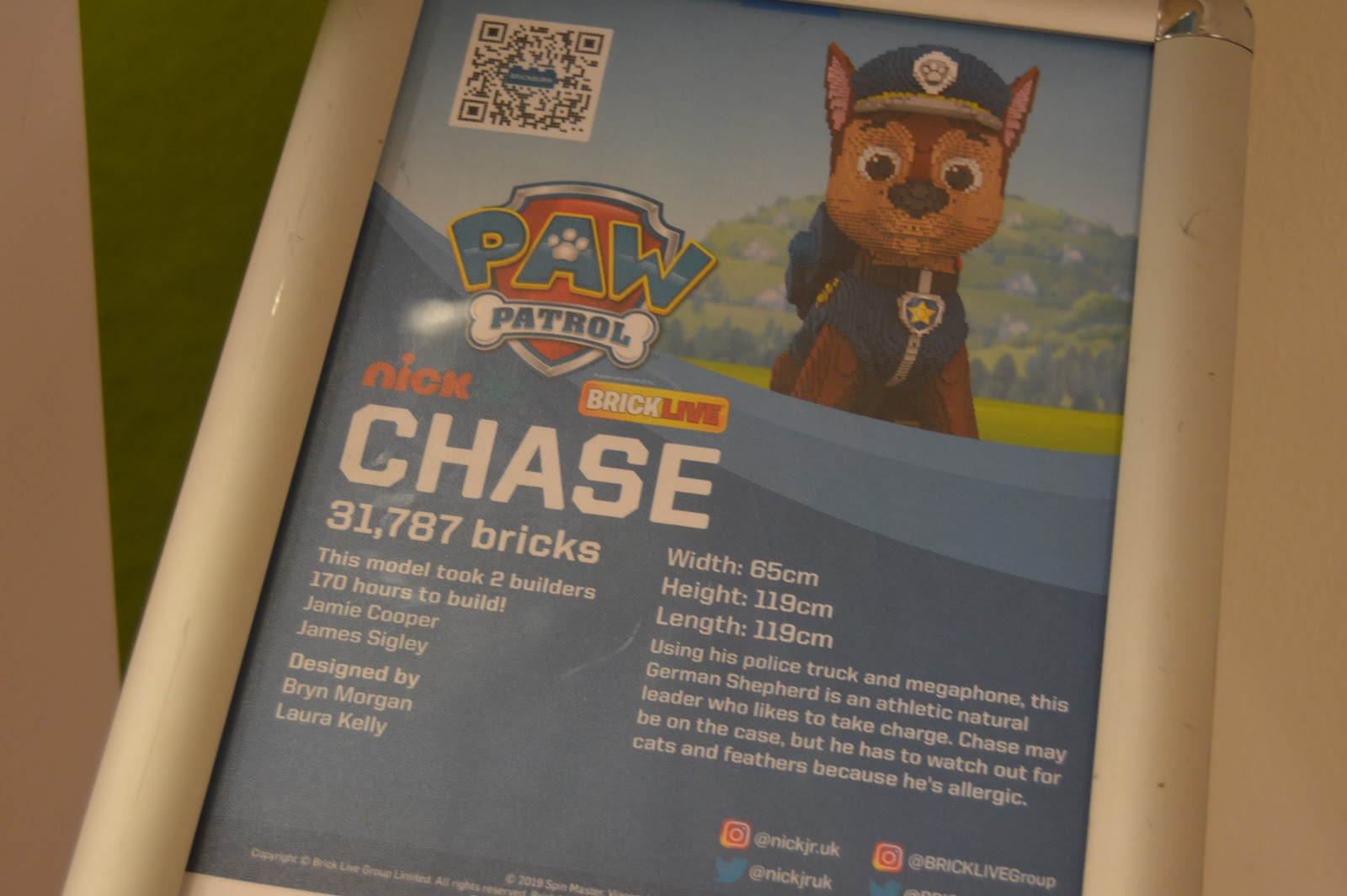 paw patrol lego facts