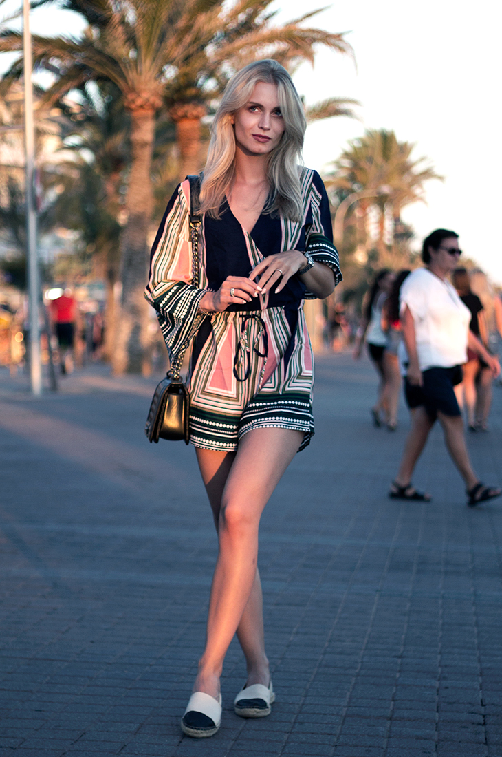 Fashion Attacks outfit ootd Elise Store pretty playsuit Mallorca